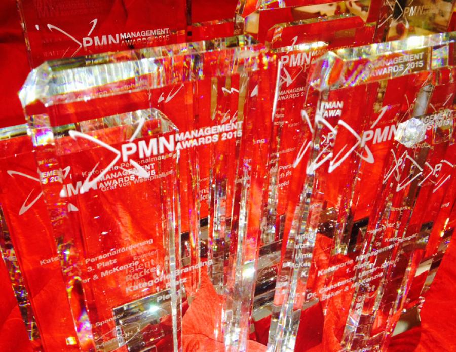 1. Platz beim PMN Management Award für Brandingprozess von Ebner Stolz