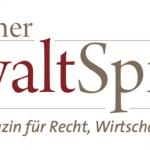 Gastbeitrag Deutscher Anwaltspiegel