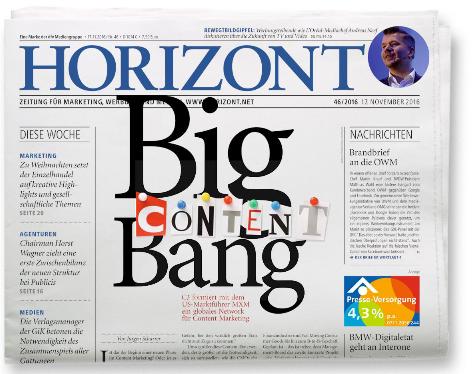 Es geht auch anders – HORIZONT 46/2016