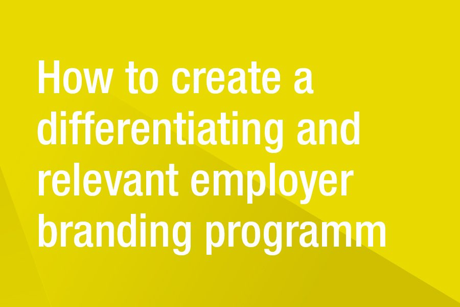 SPECIAL: law firms and employer branding – why the employer brand is important for your success.